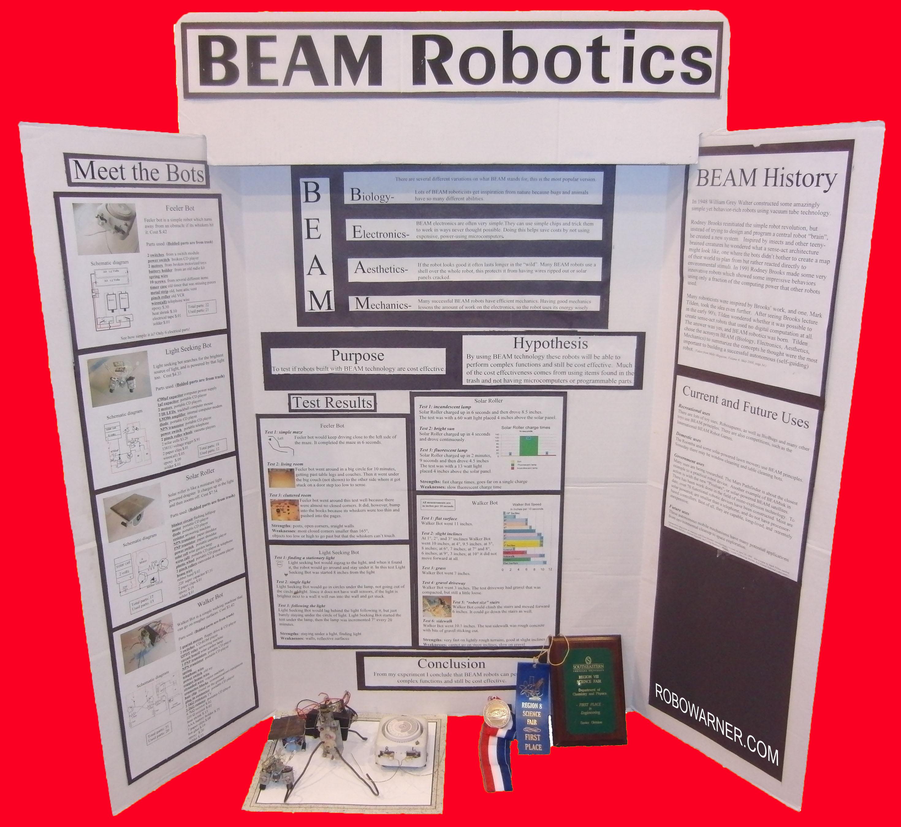 Beam Robots Robowarner With Solar Panel Schematic Diagram Also Npn And Pnp Transistor