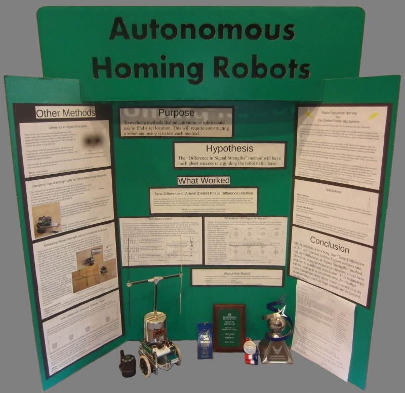 Science Project Types Robowarner